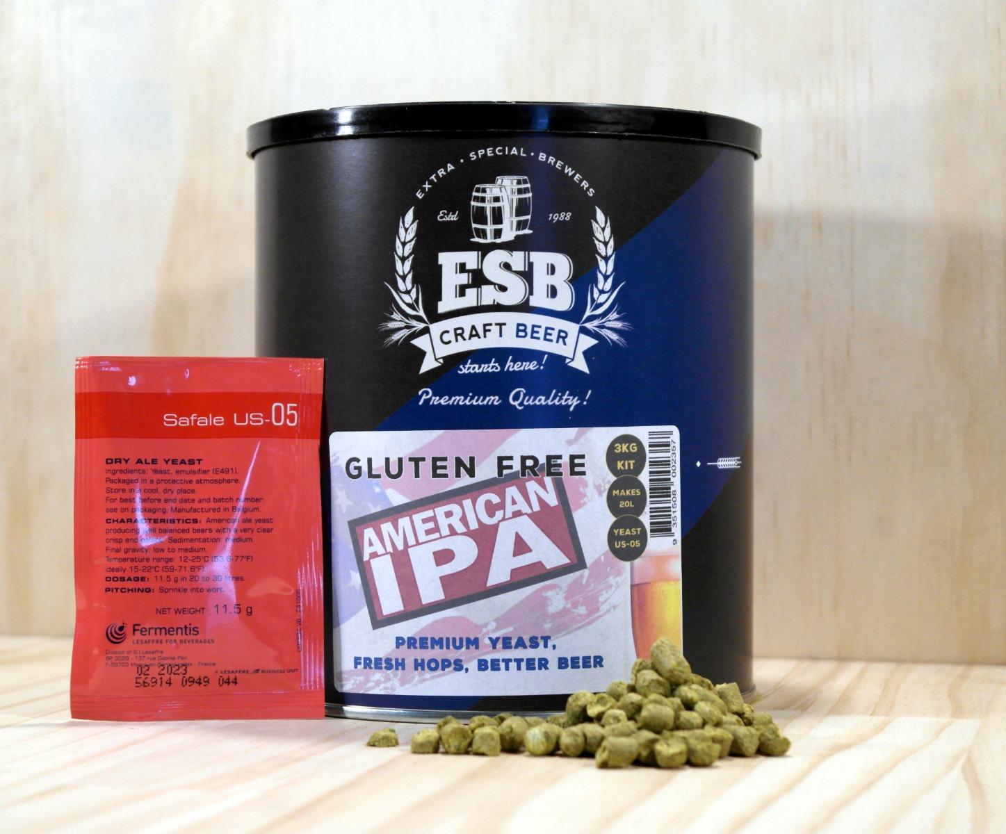 ESB 3kg Gluten Free American IPA
