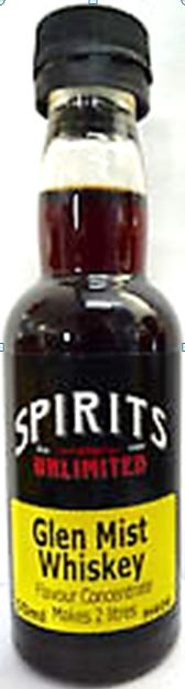 Spirits Unlimited Glen Mist Whiskey