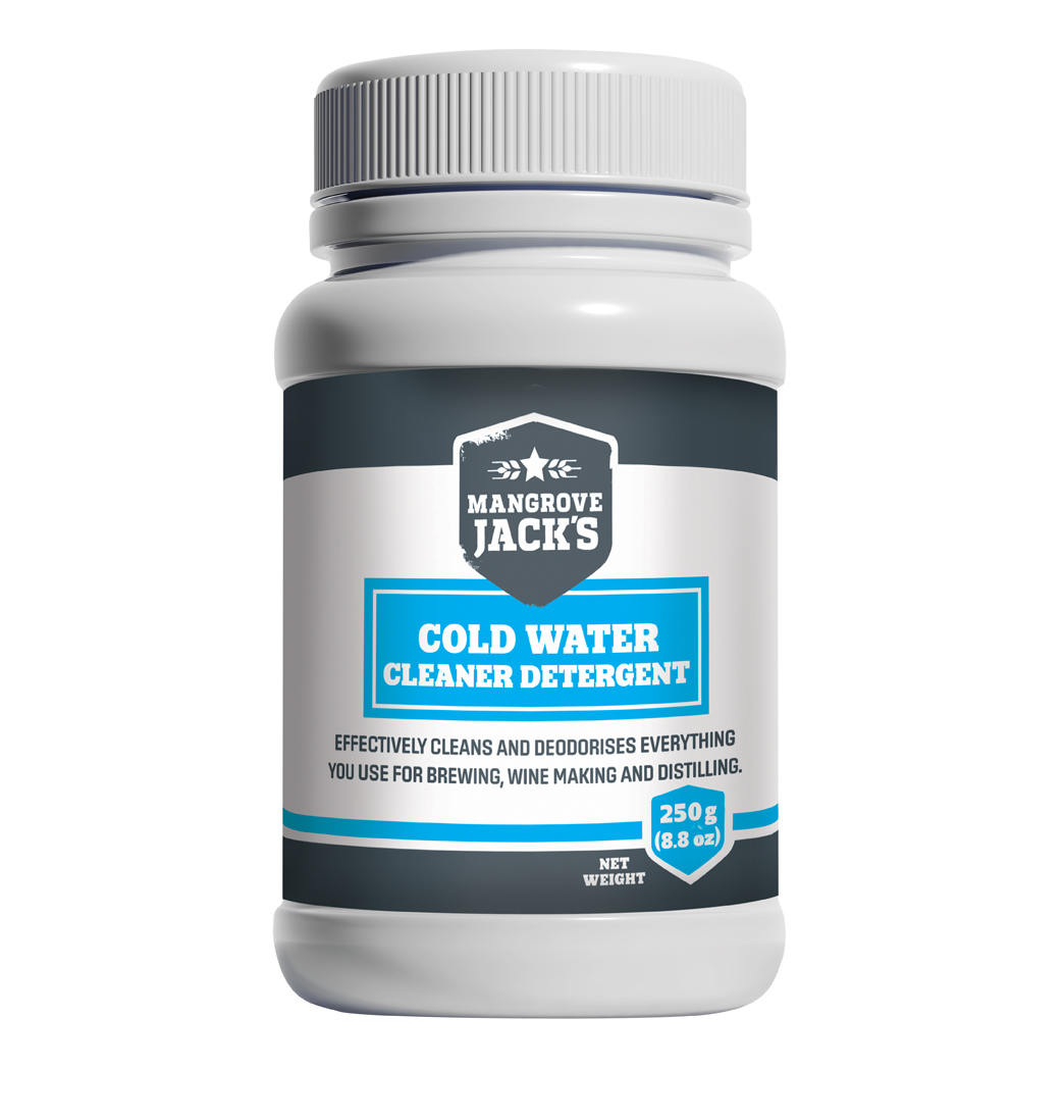 Mangrove Jack's ECD Cold Water Cleaner/Detergent 250gm