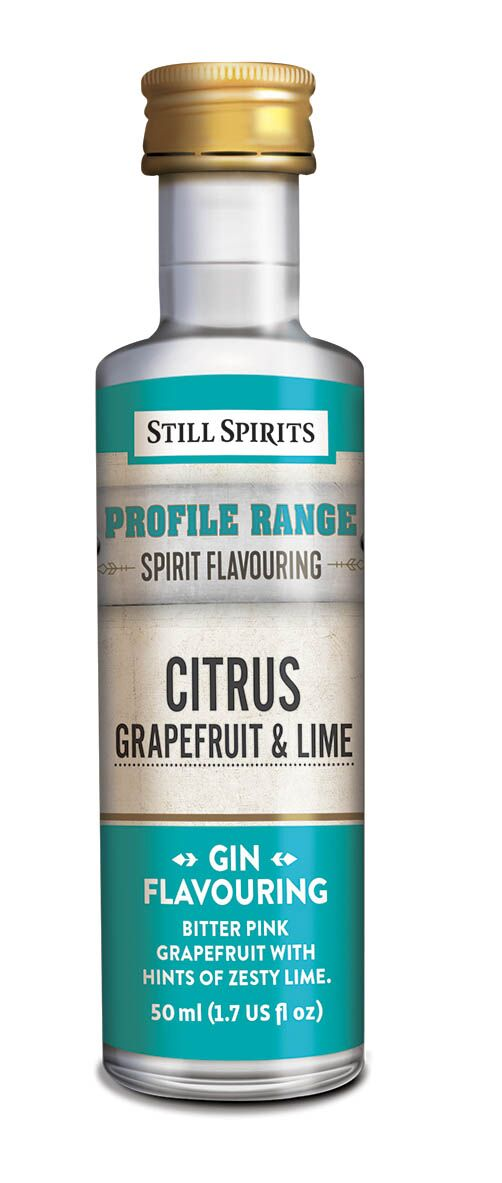 Still Spirits Gin Profile - Citrus - Grapefruit & Lime