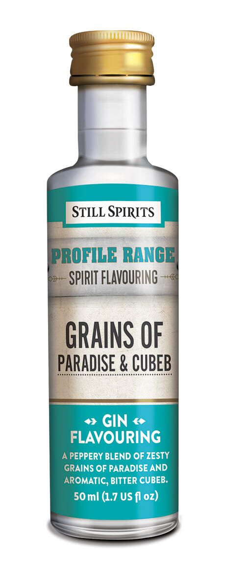 Still Spirits Gin Profile - Grains of Paradise & Cubeb