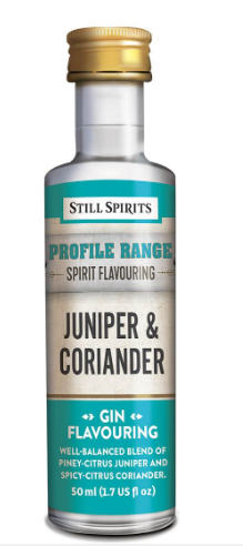 Still Spirits Gin Profile - Juniper & Coriander