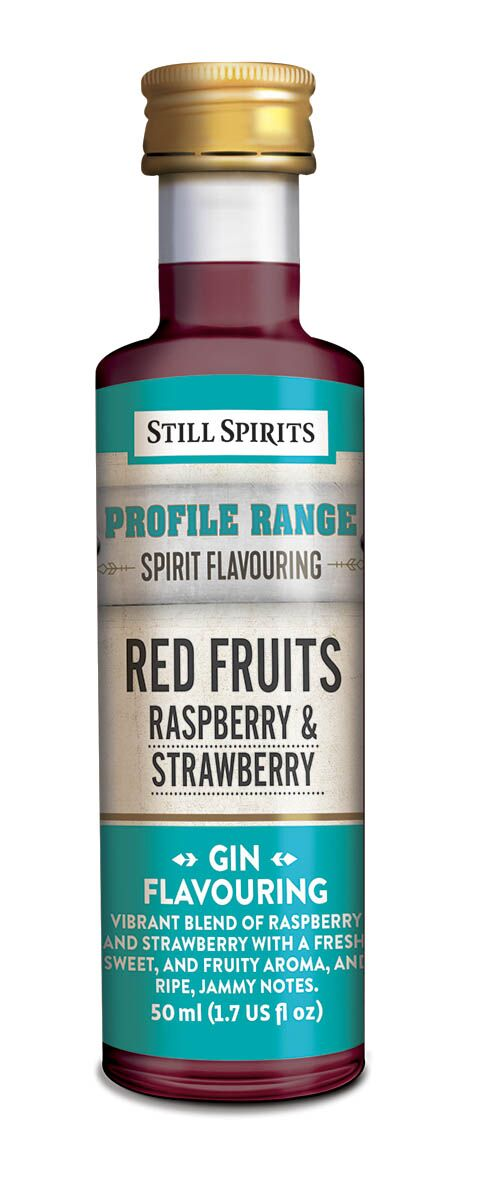 Still Spirits Gin Profile - Red Fruits - Raspberry & Strawberry