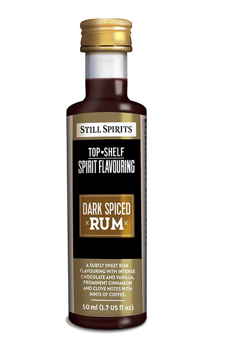 Still Spirits Top Shelf Dark Spiced Rum