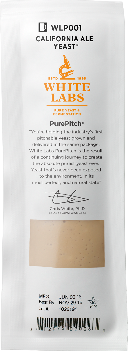 White Labs WLP041 Pacific Ale Yeast